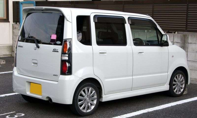 Suzuki Wagon R 2 generation RR minivan 5 dv. 0.7 turbo AT (1998–2003)
