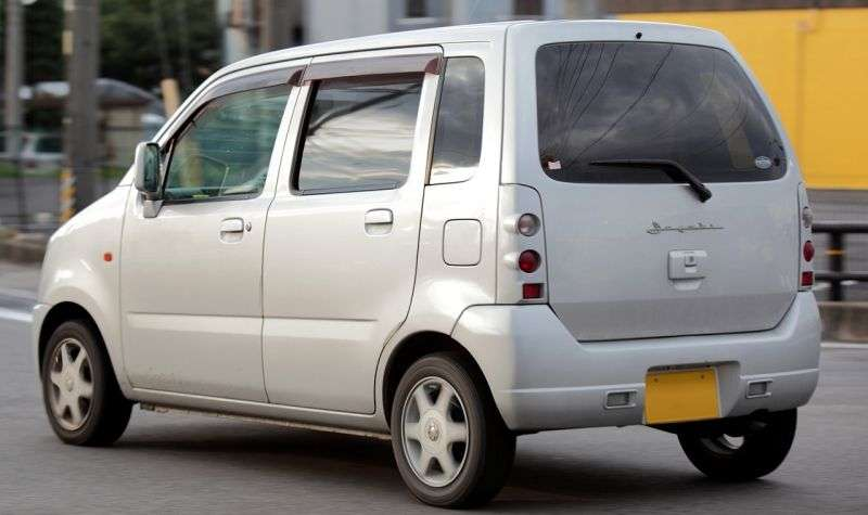 Suzuki Wagon R 2 generation [restyling] C2 minivan 0.7 AT AWD (2000–2003)