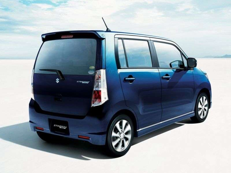 Suzuki Wagon R 4th generation Stingray minivan 0.7 turbo AT AWD (2008 – n.)