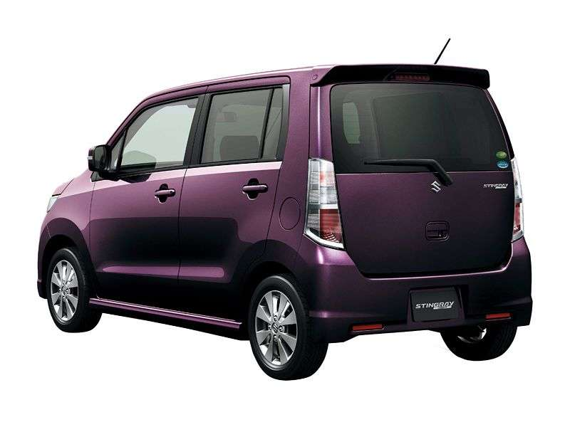 Suzuki Wagon R 4 generation Stingray minivan 0.7 turbo CVT (2008 – n.)