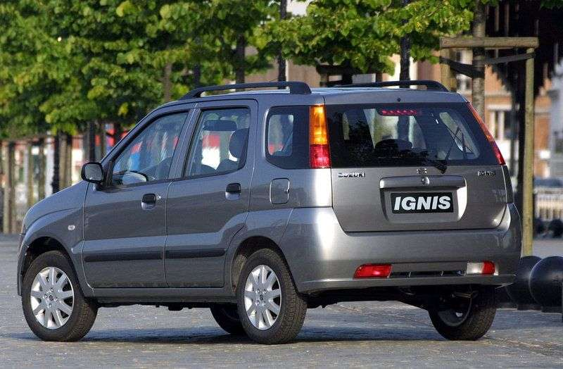 Suzuki Ignis 1st generation hatchback 5 dv. 1.3 AT (2000–2003)