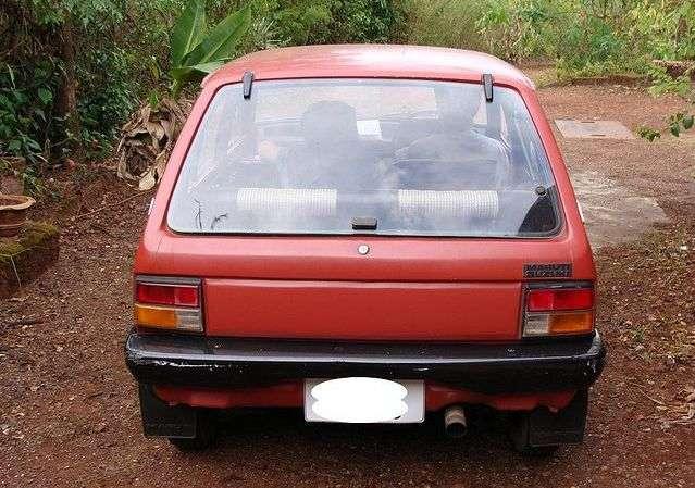 Suzuki Alto 1st generation 5 dv hatchback 0.8 MT (1979–1984)