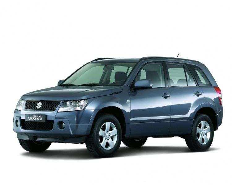 Suzuki Grand Vitara 2nd generation 5 bit crossover. 2.4 AT JLX EL (2012) (2005–2012)