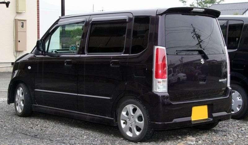 Suzuki Wagon R 3 generation minivan 1.2 MT (2003–2008)