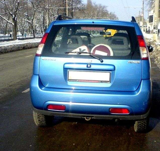 Suzuki Ignis 1st generation hatchback 5 dv. 1.3 MT (2000–2003)