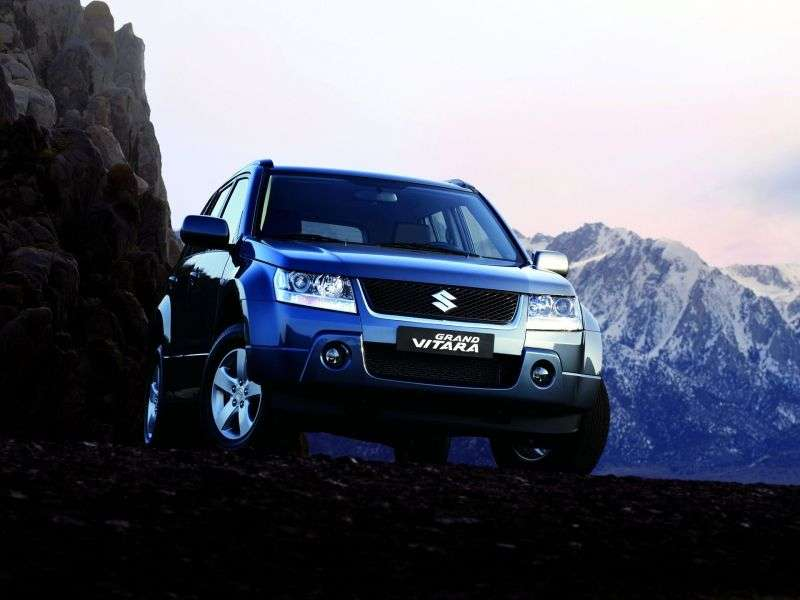 Suzuki Grand Vitara 2nd generation 5 bit crossover. 2.4 AT JLX E (2011) (2005–2012)