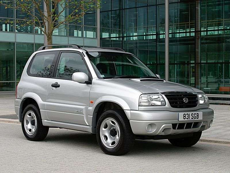 Suzuki Grand Vitara 1st generation 3 bit crossover. 1.6 MT 4WD (1998–2005)