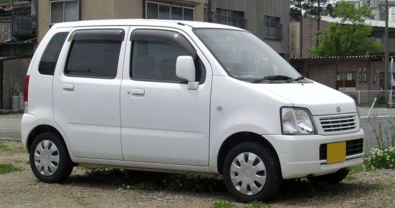 Suzuki Wagon R 2 generation [restyling] minivan 5 dv. 0.7 MT (2000–2003)