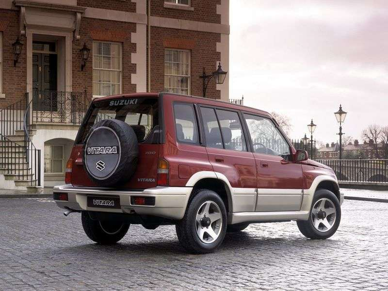Suzuki Vitara ET, TA 5 door SUV. 2.0 MT AWD (1995–1998)