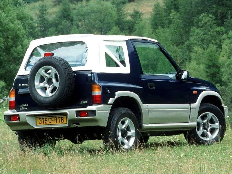 Suzuki Vitara ET, TA 1.6 MT AWD (1988–1995)