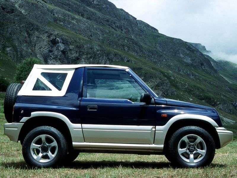 Suzuki Vitara ET, TA Cabrio 1.9 TDI MT AWD (1996–1998)