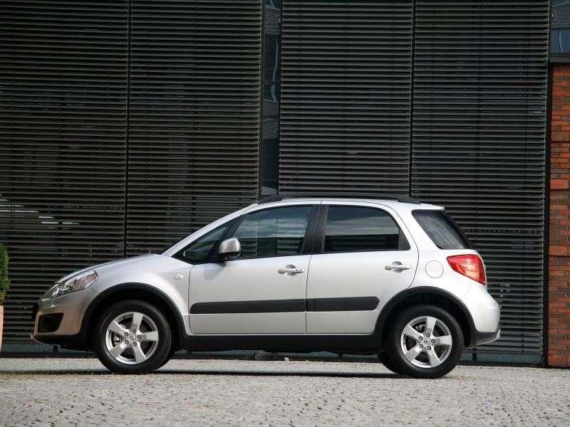 Suzuki SX4 1st generation [restyling] hatchback 1.6 AT GLX (2011) (2010 – AD)