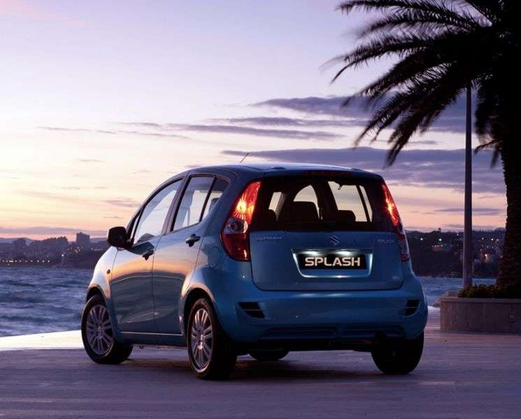 Suzuki Splash 1st generation [restyling] hatchback 1.2 MT GLS (2013) (2012 – n.)