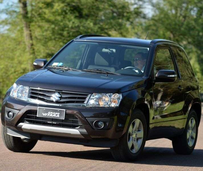 Suzuki Grand Vitara 2nd generation [restyling] 3 bit crossover. 1.6 MT AWD JX A (2013) (2012 – present)