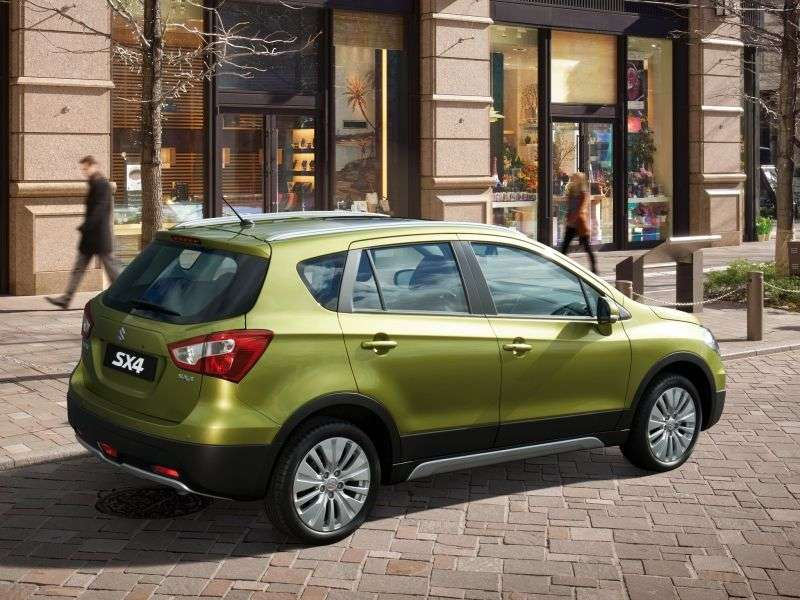 Suzuki SX4 2nd generation hatchback 1.6 MT (2013 – n.)