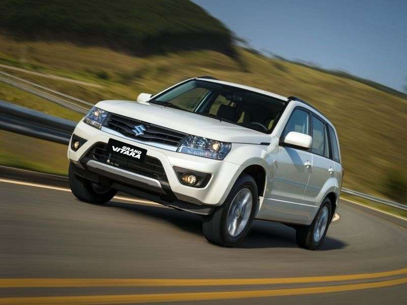 Suzuki Grand Vitara 2nd generation [restyling] 5 bit crossover. 2.0 AT AWD JLX A (2013) (2012 – current century)