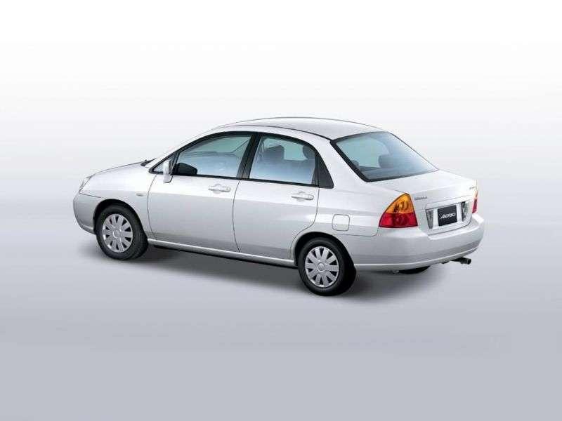 Suzuki Aerio 1.generacja sedan 1.8 MT (2002 2004)