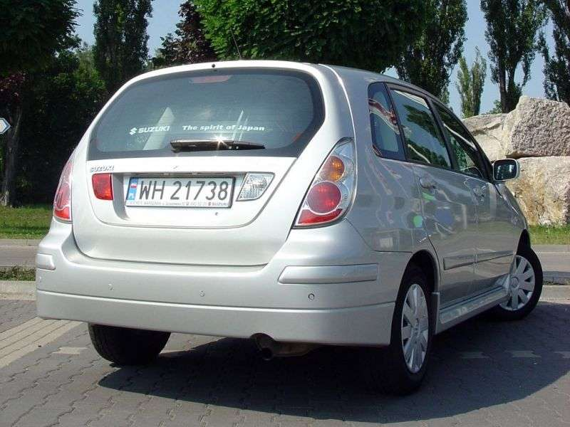 Suzuki Aerio 1st generation [restyling] wagon 2.3 AT 4WD (2004–2007)