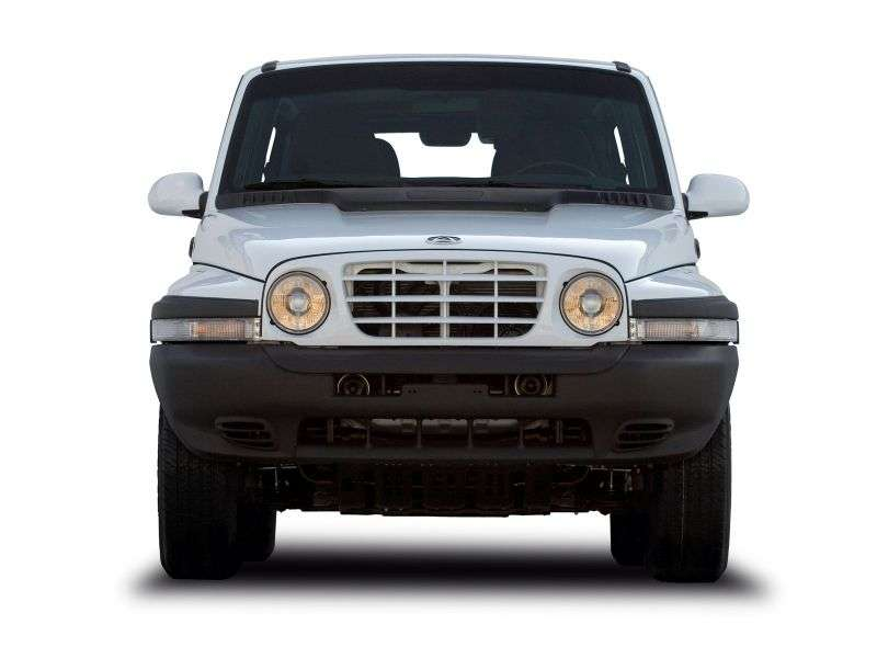 TagAZ Tager 1st generation SUV 3 dv. 2.3 MT 4WD DLX (2008 – present)