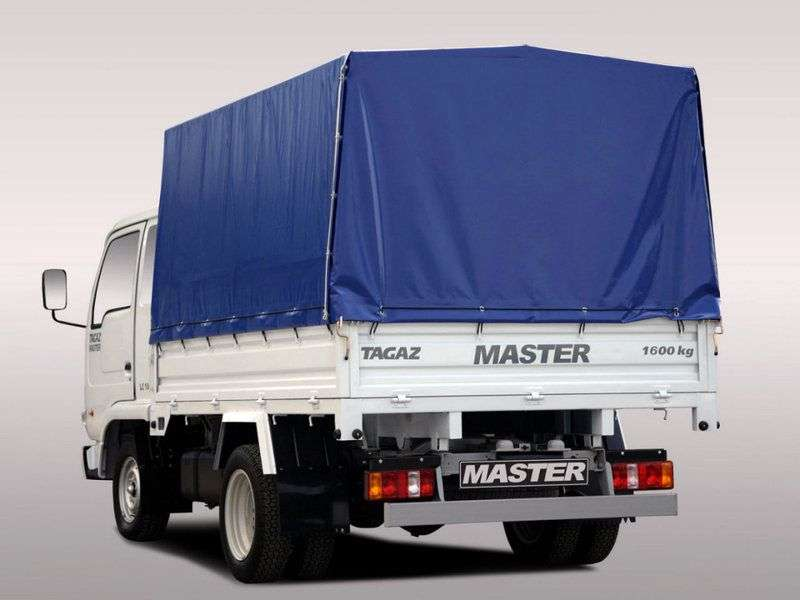 TagAZ Master 1st generation onboard 2.6 MT (1.6T) B11 (2009–2011)