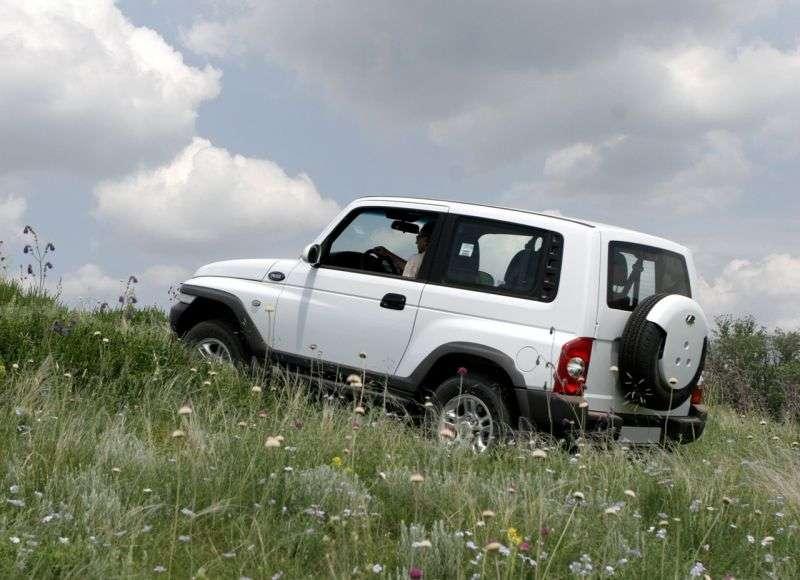 TagAZ Tager 1st generation SUV 3 dv. 2.6 D MT 4WD DLX (2008 – present)