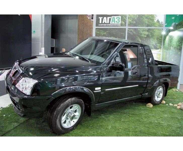 TagAZ Road Partner 1st generation pickup 2.6 D MT 4WD MT8 (2009 – n.)