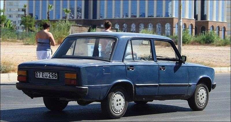 Tofas Serce 1st generation sedan 1.3 MT (1985–1996)