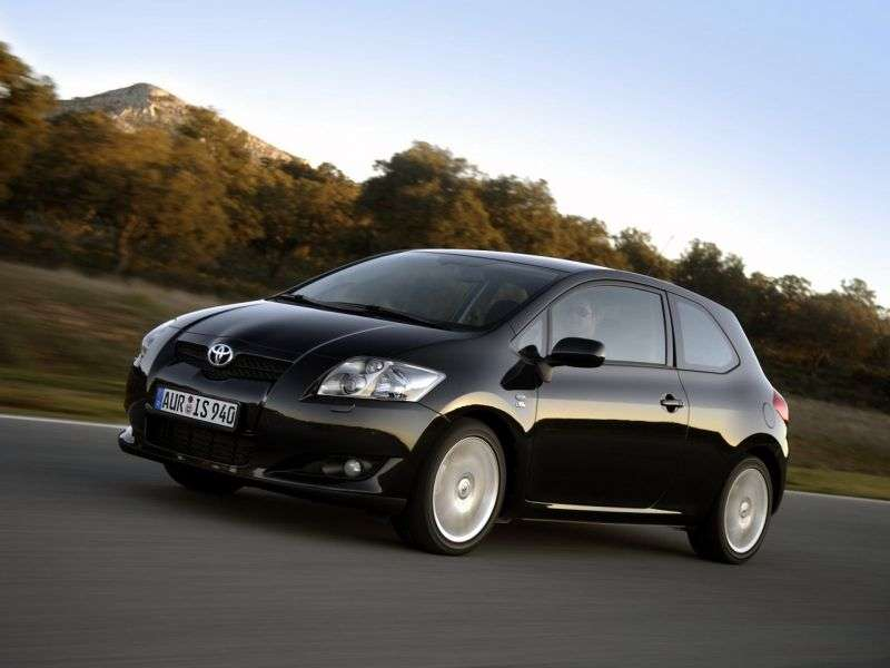 Toyota Auris 1 generation hatchback 3 dv. 1.4 D 4D MT (2006–2009)
