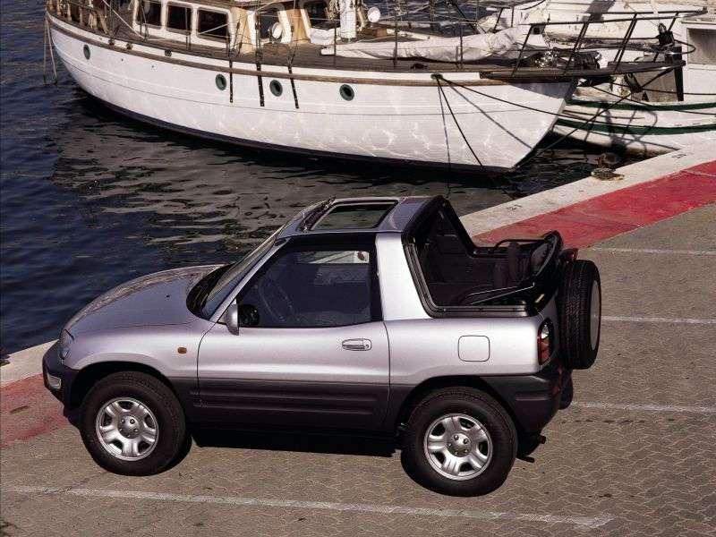 Toyota RAV4 1st generation [restyling] 2.0 MT AWD convertible (1998–2000)