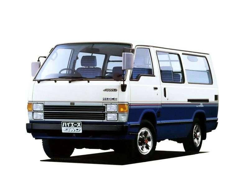 Toyota Hiace H50 minivan 4 bit 2.8 D MT (1982–1989)