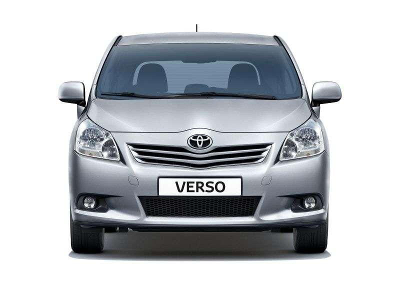 Toyota Verso 1st generation minivan 2.0 D 4D MT (2009–2013)