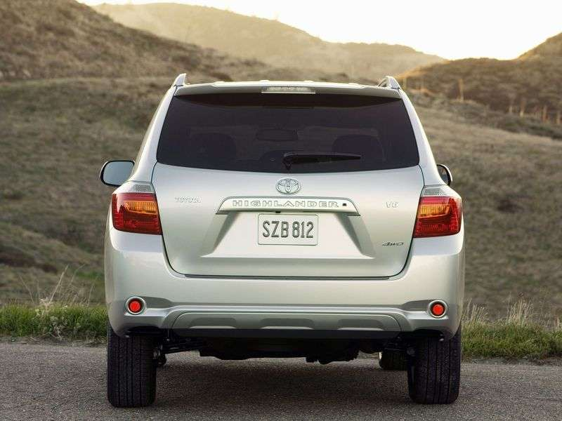 Toyota Highlander 2nd generation crossover 5 bit. 3.5 AT 7seat (2008–2010)