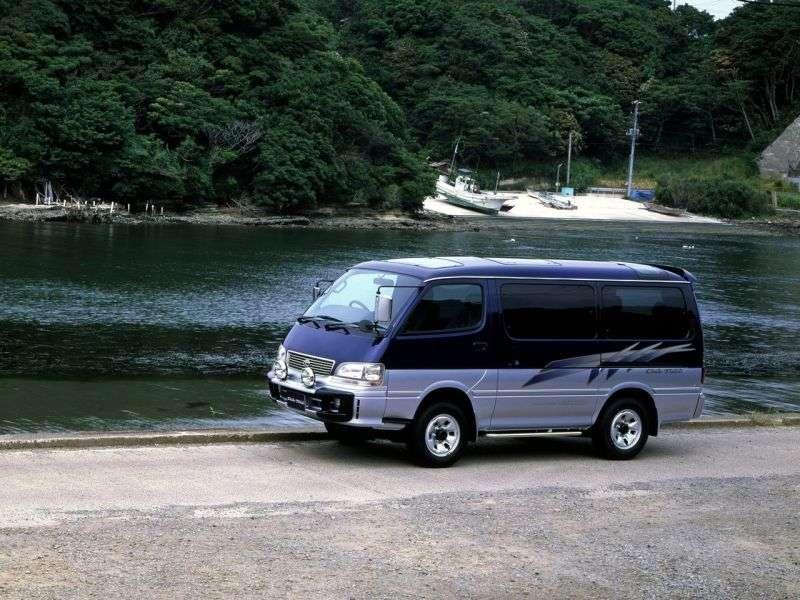 Toyota Hiace H100 microbus 4 dv. 2.4 AT (1989–2004)