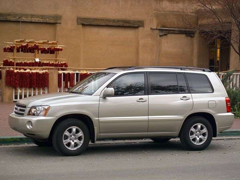 Toyota Highlander 1st generation crossover 2.4 AT (2001–2003)