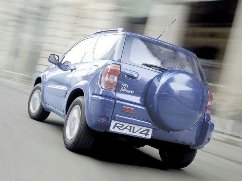 Toyota RAV4 2nd generation 3 bit crossover. 2.0 AT AWD (2000–2006)