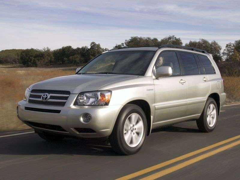 Toyota Highlander 1st generation [restyled] Hybrid 5 crossover crossover 3.3 AT 4WD (2005–2007)