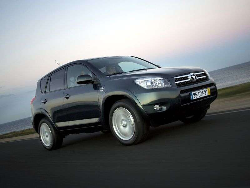 Toyota RAV4 3 generation crossover 2.4 AT (2006–2009)
