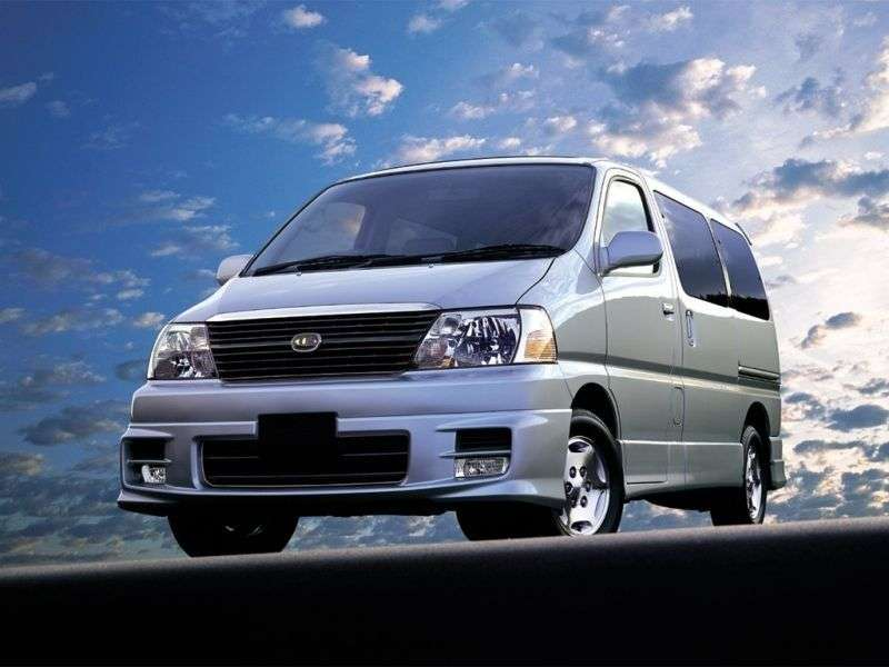 Toyota Hiace H100Grand minibus 4 doors 3.0 AT 4WD 8seat (1999–2002)