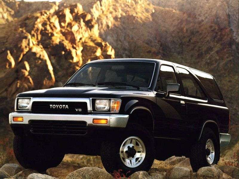 Toyota 4runner 2nd generation SUV 3 dv. 3.0 AT (1989–1995)