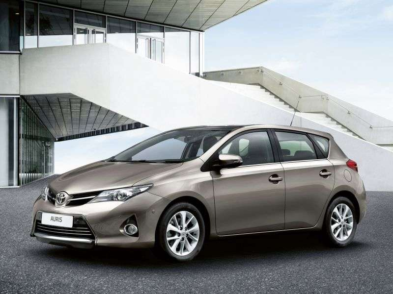 Toyota Auris 2 generation hatchback 5 dv. 1.6 MT Comfort Plus (2012 – present)
