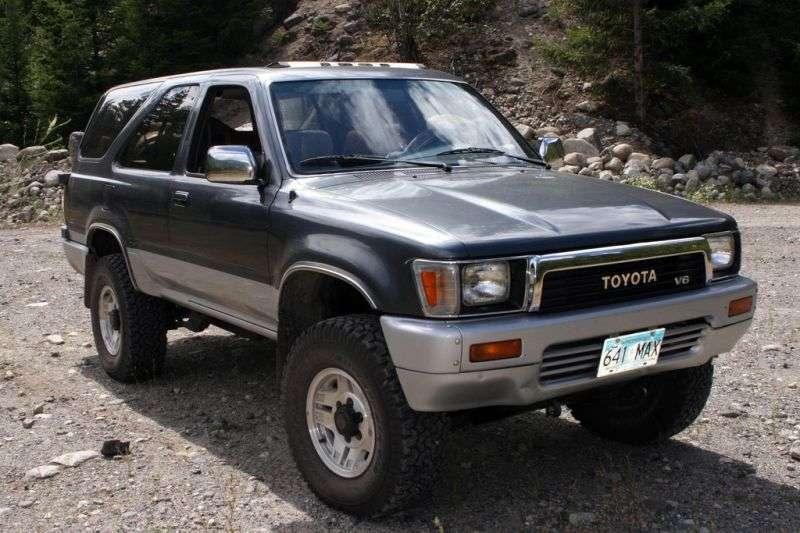 Toyota 4runner 2nd generation SUV 3 dv. 2.4 AT (1989–1995)