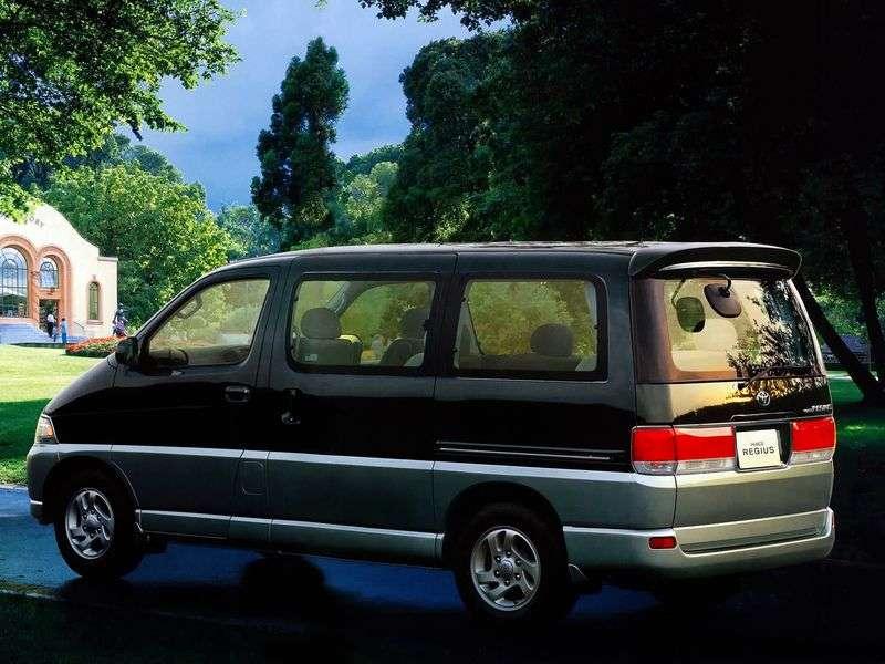 Toyota Hiace H100Regius minibus 4 doors 3.0 D AT (1999–2004)