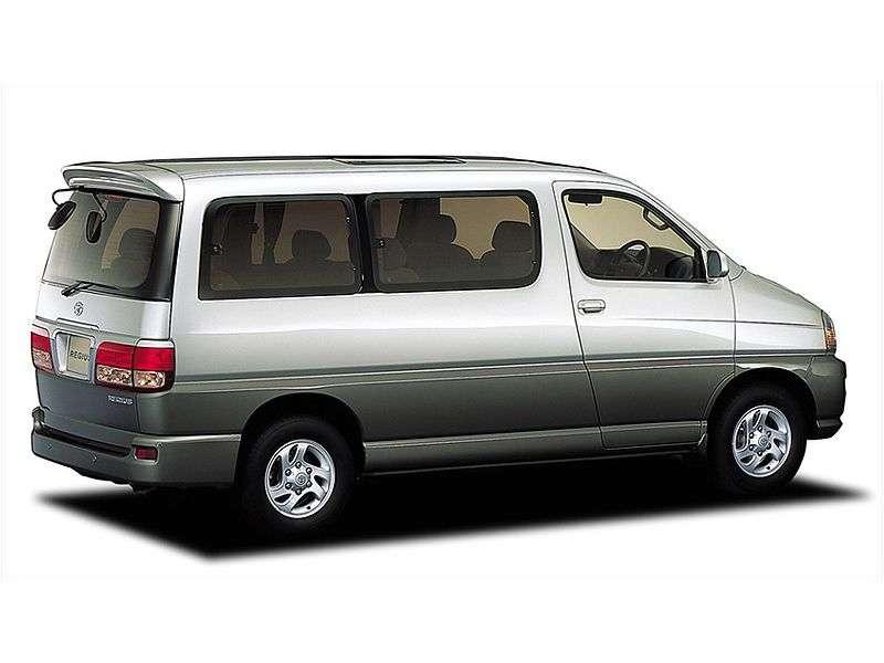 Toyota Hiace H100Regius minibus 4 doors 3.0 AT 4WD (1997–2000)