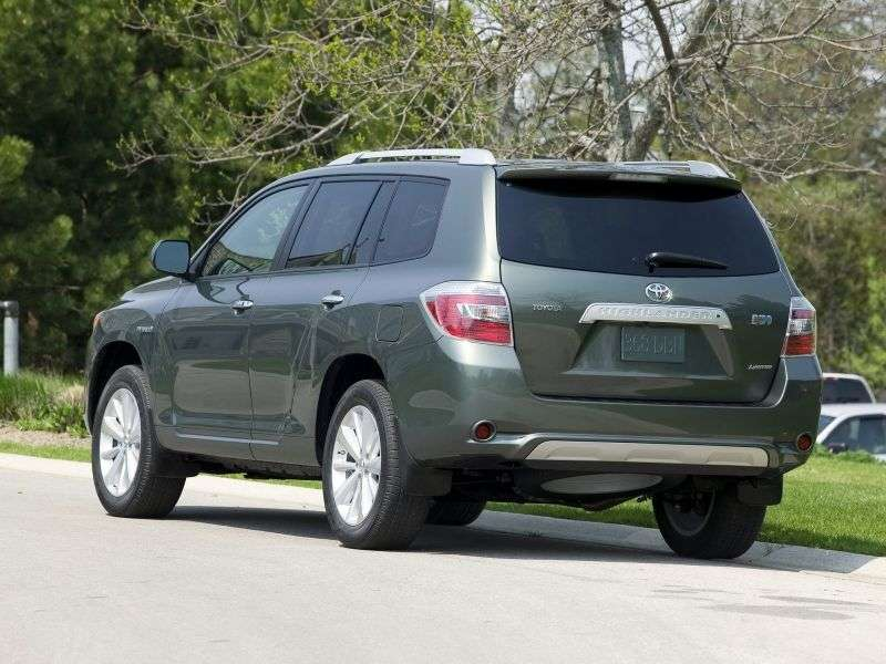Toyota Highlander 2nd generation Hybrid 5 bit crossover. 3.3 AT 4WD 5seat (2008–2010)