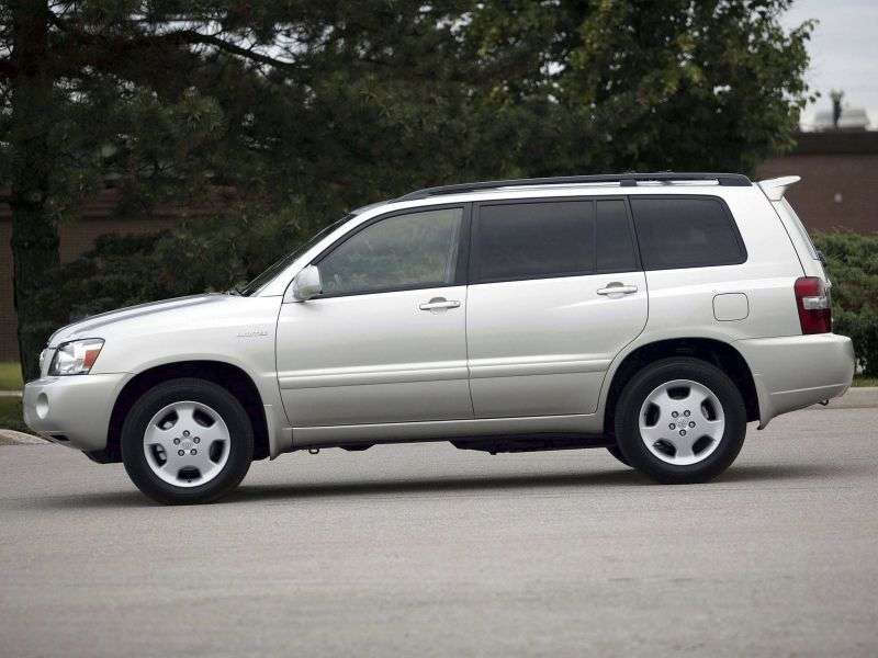 Toyota Highlander 1st generation [restyled] crossover 3.3 AT 7seat (2005–2007)