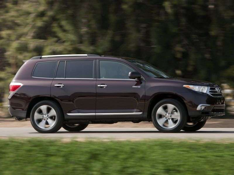 Toyota Highlander 2nd generation [restyling] 5 bit crossover. 3.5 AT 4WD Comfort (2012) (2010 – present)