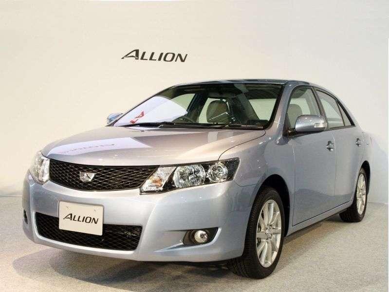 Toyota Allion T260 sedan 1.8 CVT (2007–2009)