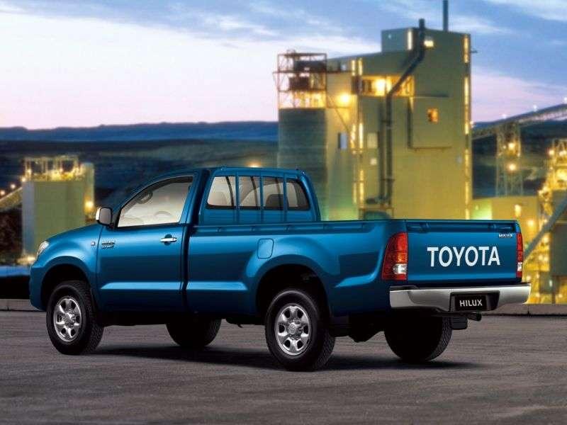 Toyota Hilux 7 generation pickup 2 bit. 2.5 TD AT (2005–2008)