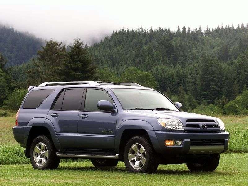 Toyota 4runner 4th generation SUV 4.7 AT 4WD (2005–2009)