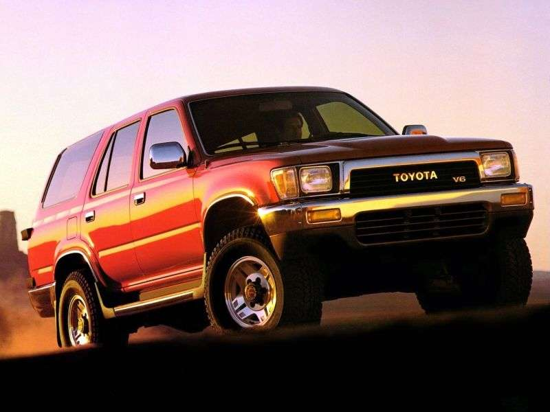Toyota 4runner 2nd generation SUV 5 bit. 2.4 AT (1989–1995)